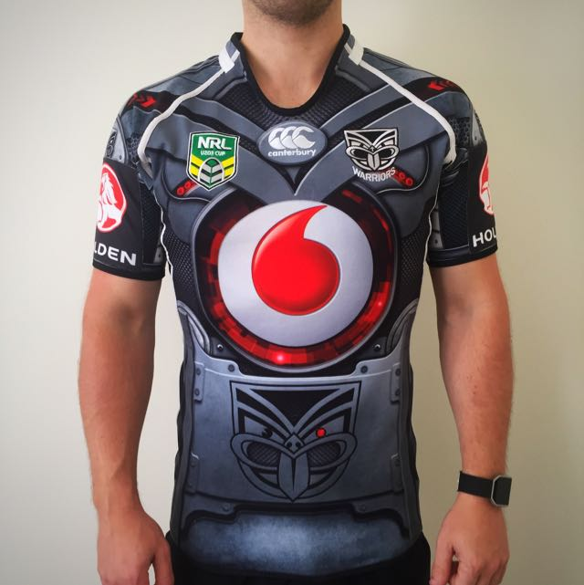 Authentic 2013 Warriors U20s Player Fit Jersey