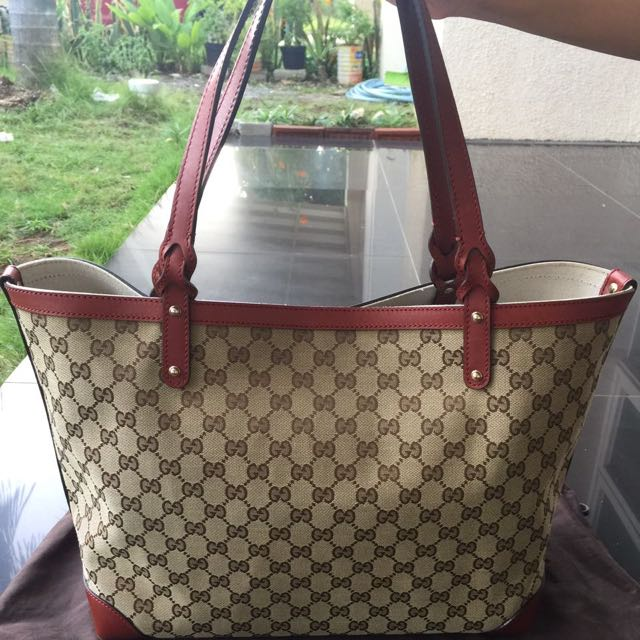 Authentic 💯Gucci Tote