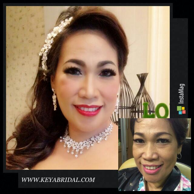 Before After Make Up By Ana Then Keya Bridal