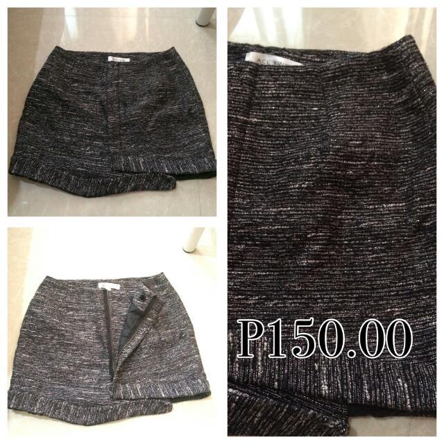 Black glitter Skirt