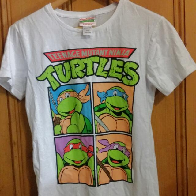 Bnwot Teenage Mutant Ninja Turtles Tshirt Size 12 14