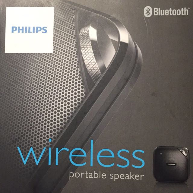 Brand New Philips Wireless Speaker