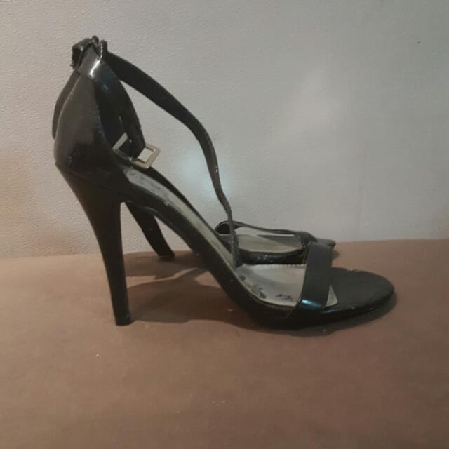 Brash - Black Stiletto Heels Sz 9.5
