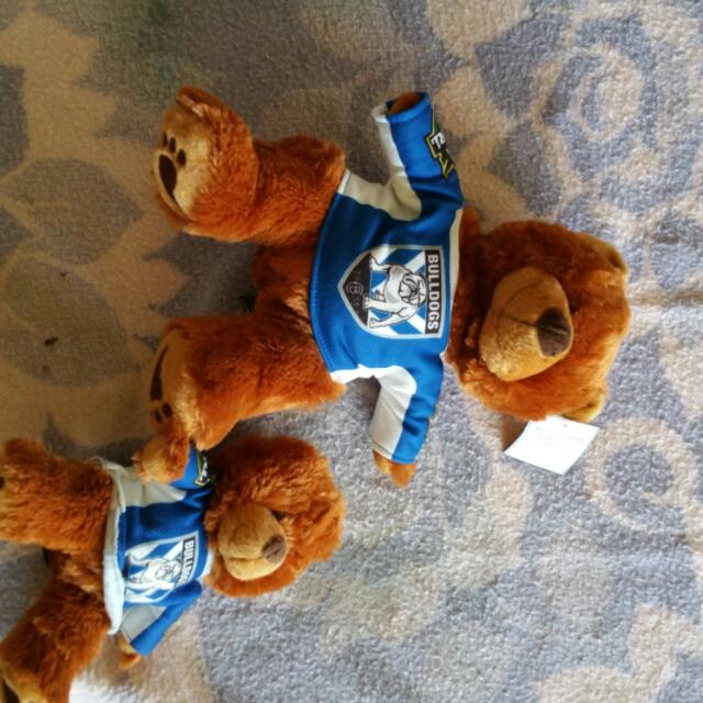Bulldogs Teddies