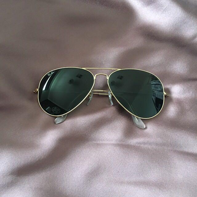 Classics RayBan Aviators Sunglasses