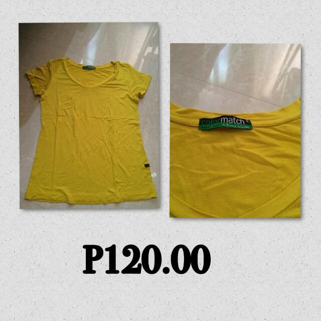 Color Match Shirt