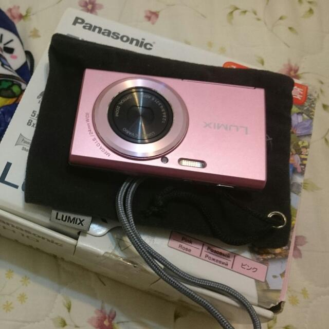 可殺)DMC-FH10粉紅相機