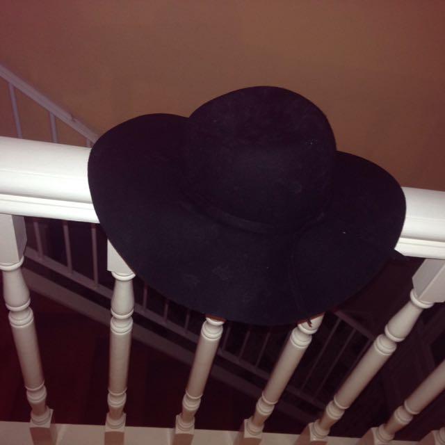 Dotti Black Felt Hat
