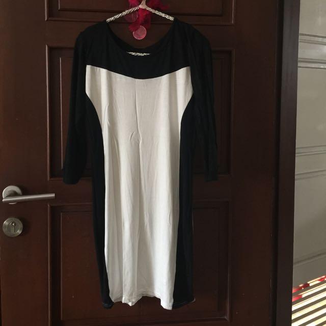 Dress Bahan Spandek