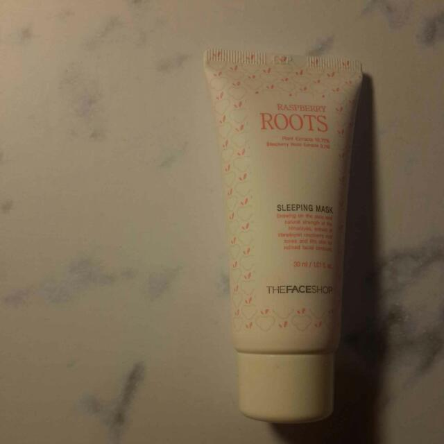 Face Shop Raspberry Roots Sleeping Mask