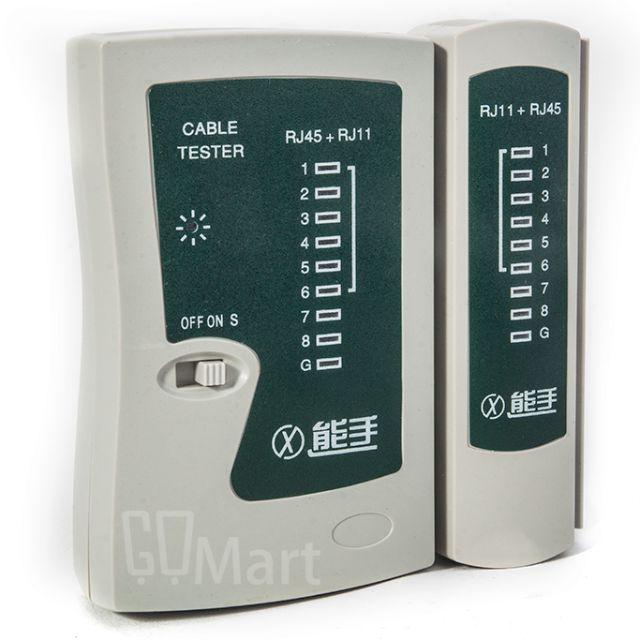 【GoMart】GE-P030 能手 能事 RJ45 RJ11 測試器 測線器 檢測器 電話線 網路線