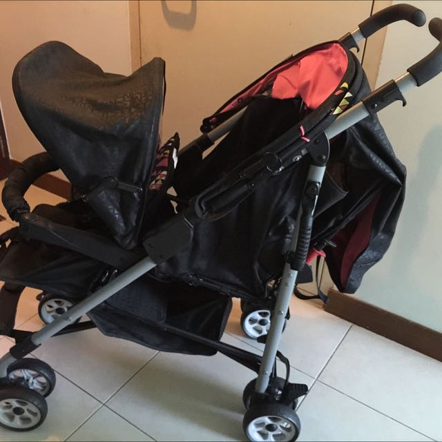 ( Reduced $130) Goodbaby Twin Stroller