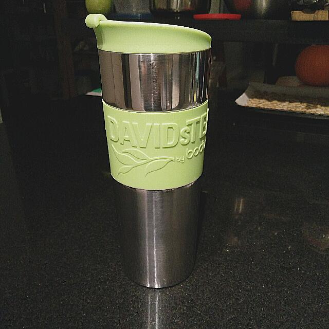 Green DavidsTea Bodum Travel Tea Mug