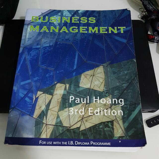 Ib business management paul hoang 3rd edition books stationery photo photo photo fandeluxe Image collections