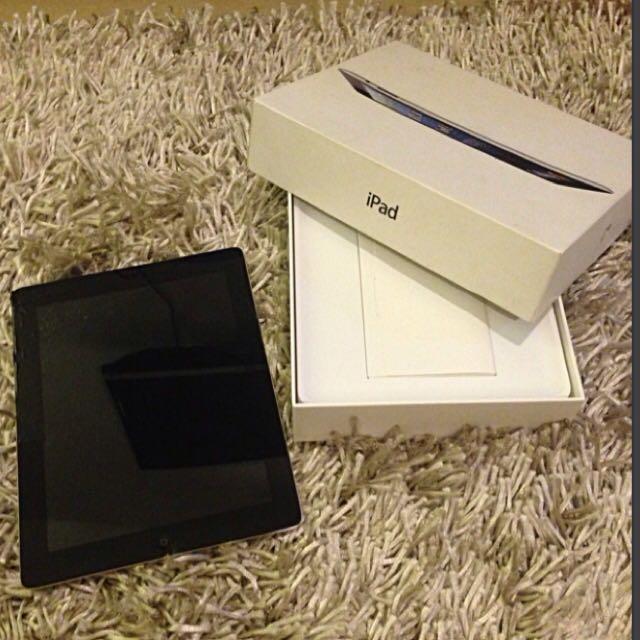 iPad 4 Wi-Fi Cellular 16GB black