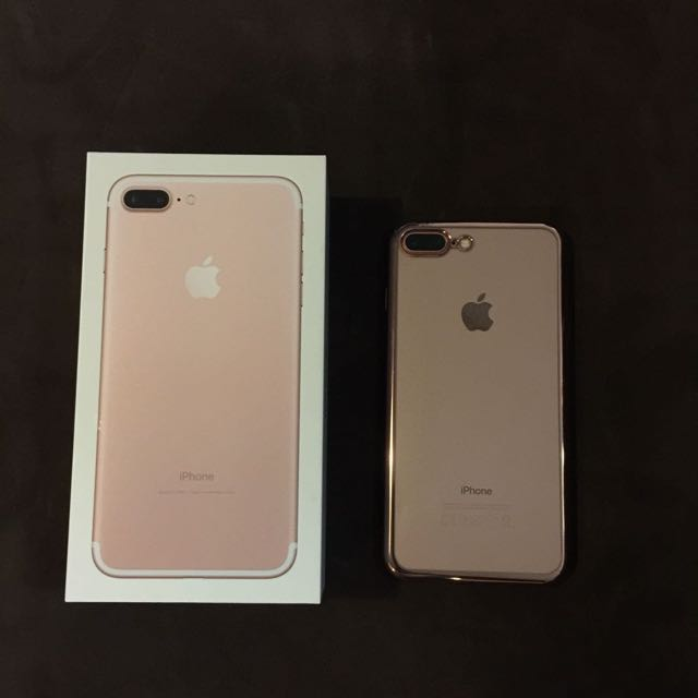 iPhone 7 Plus 256 Gb In Rose Gold