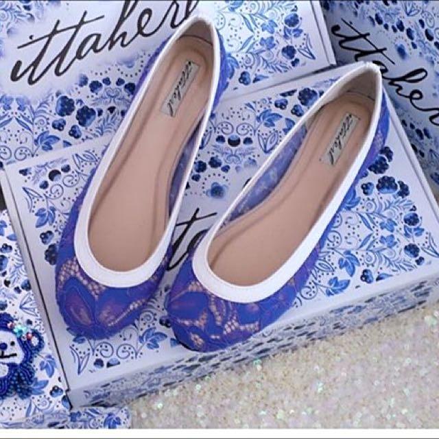 Ittaherl (Luna ballerina blue) #ClearanceSale