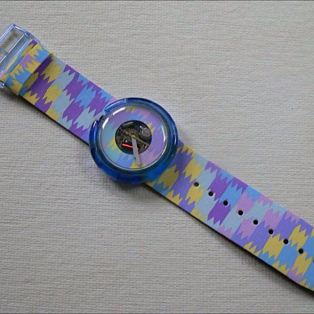 Jam Tangan Swatch Pop Aquaba-PWN102 Original