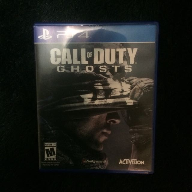 Kaset PS4 Call Of Duty: Ghosts