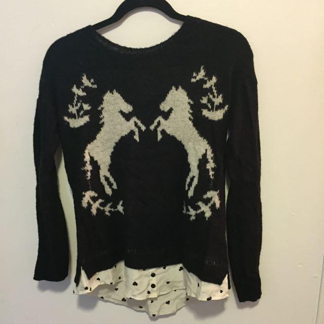 Kenzie Sweater Shirt Size Small