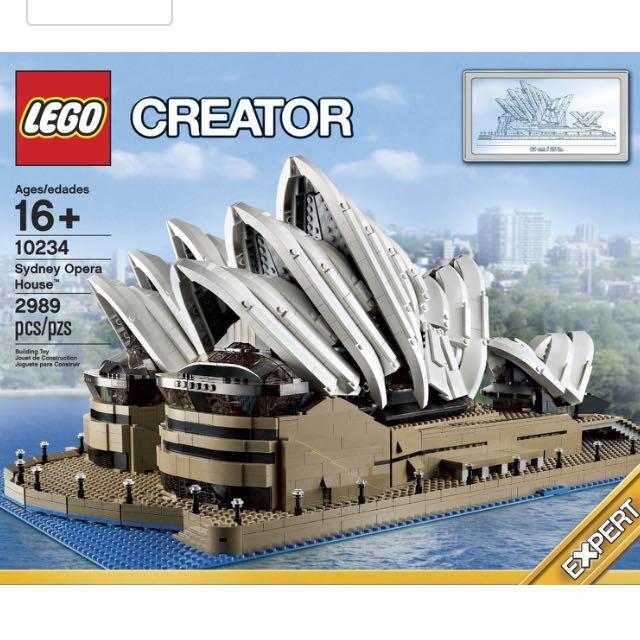Lego Sydney Opera 10234 - Reserved