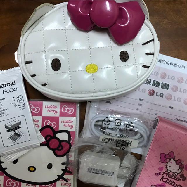 LG Hello Kitty 口袋相機印