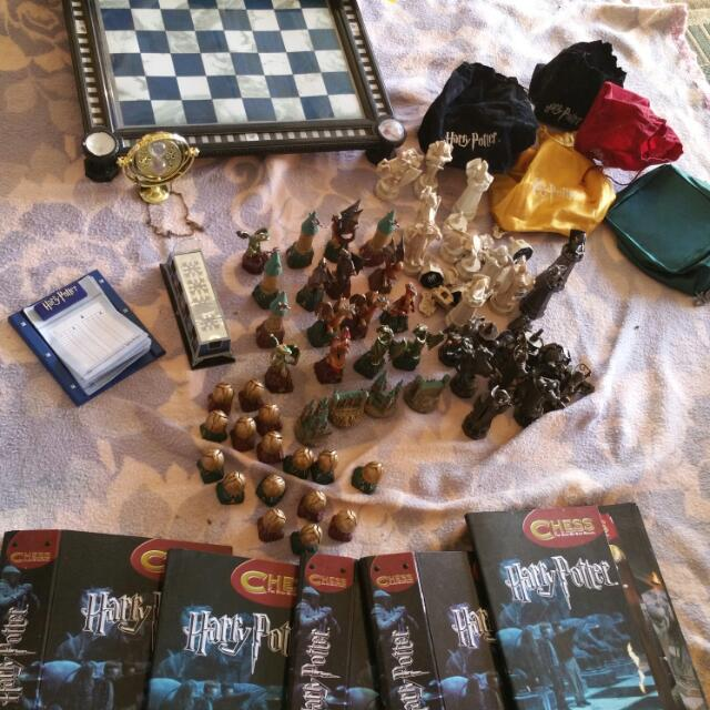 Lights And Sound Harry Potter Chess Set