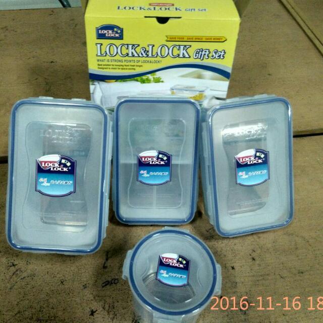 Lock n Lock Food Container Classic