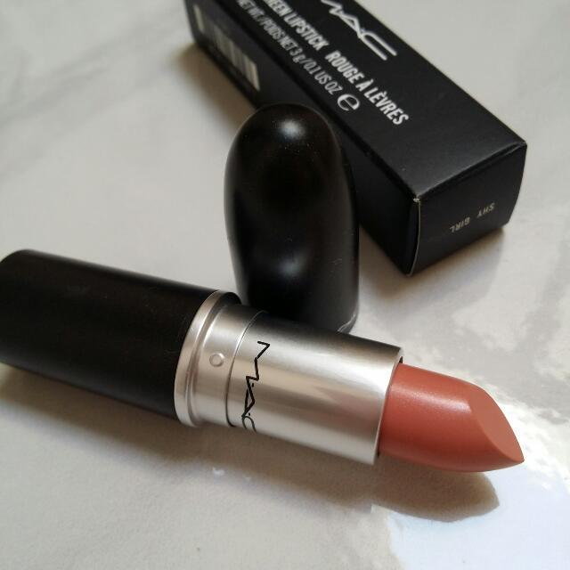 Mac Lipstick - Shy Girl