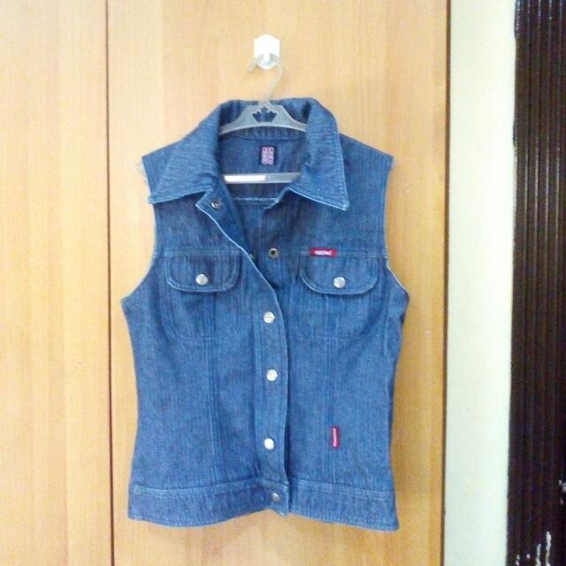 Mossimo Maong Vest/ Blazer/ Cardigan