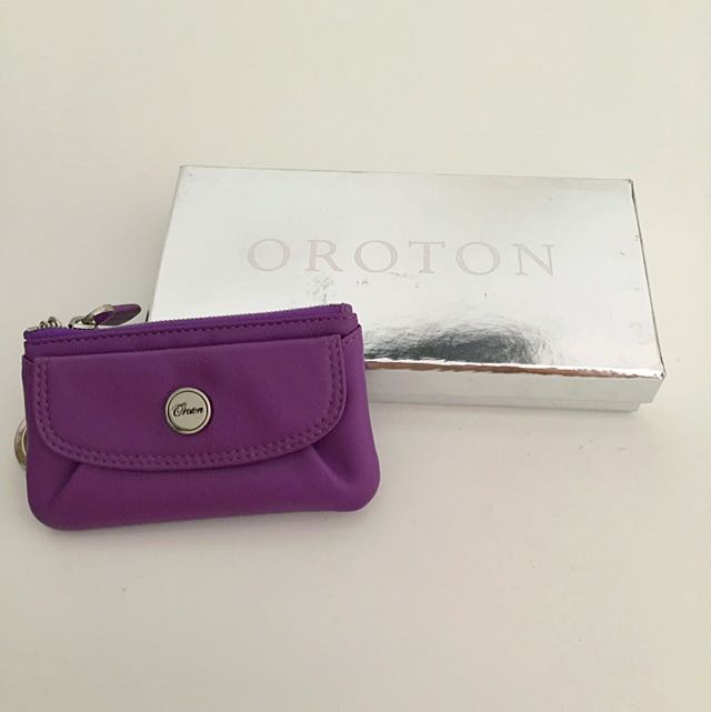 Oroton Purple Coin Purse