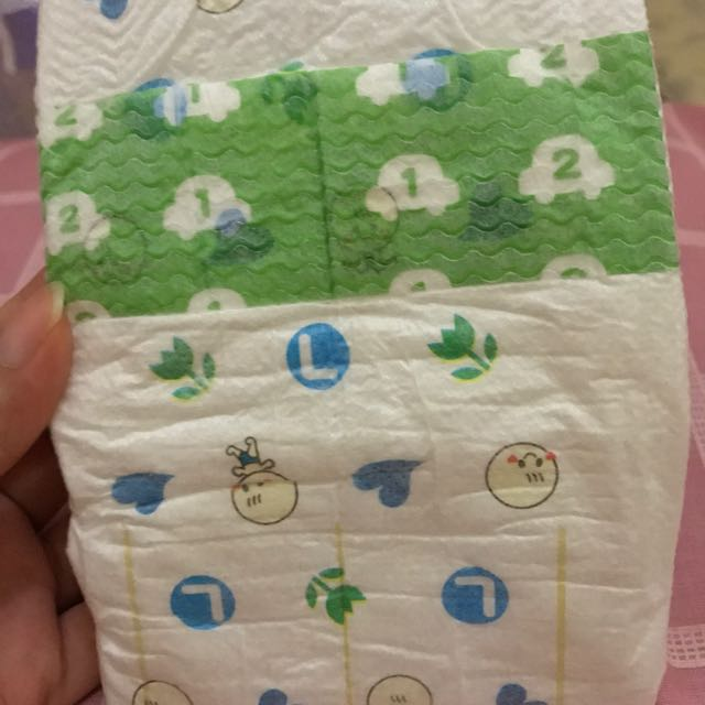 PAMPERS NEPIA SIZE L 54 TIPE TAPE