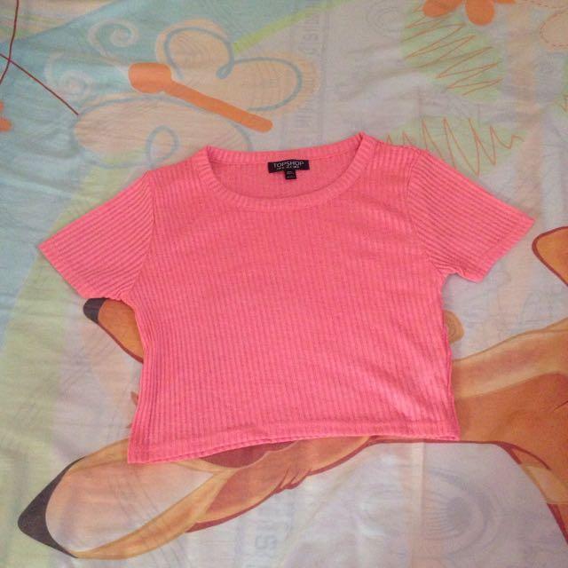 Pink Crop Top Shop
