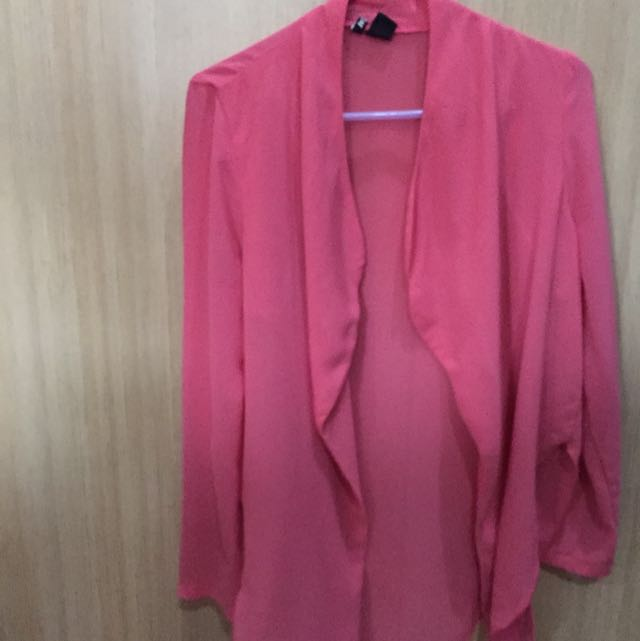 Pink H&M Sheer Cover-up