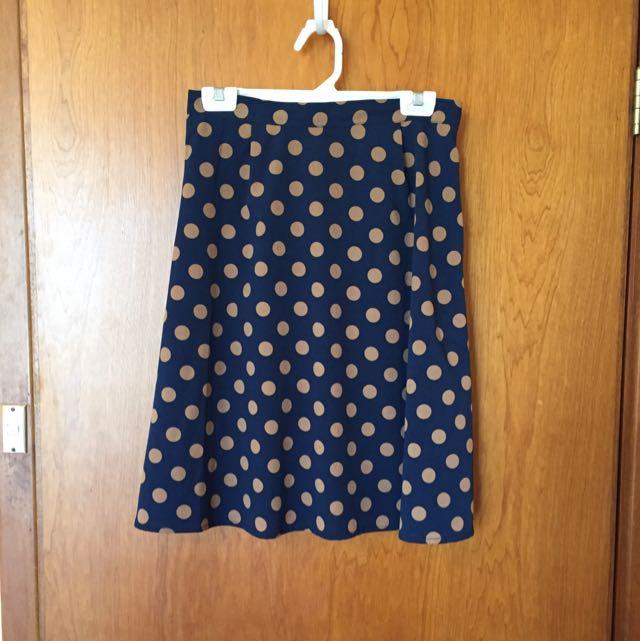 Princess Highway Polka Dot Skirt