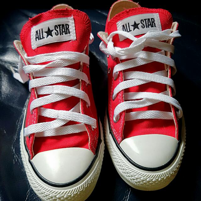 new red converse