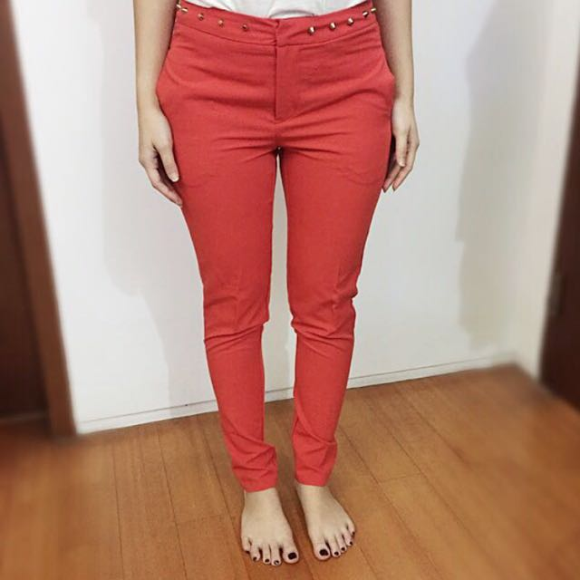 Forever 21 Red Pants