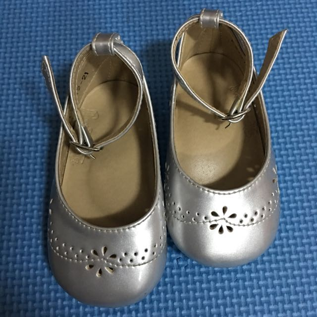 Rustanette Silver Shoes