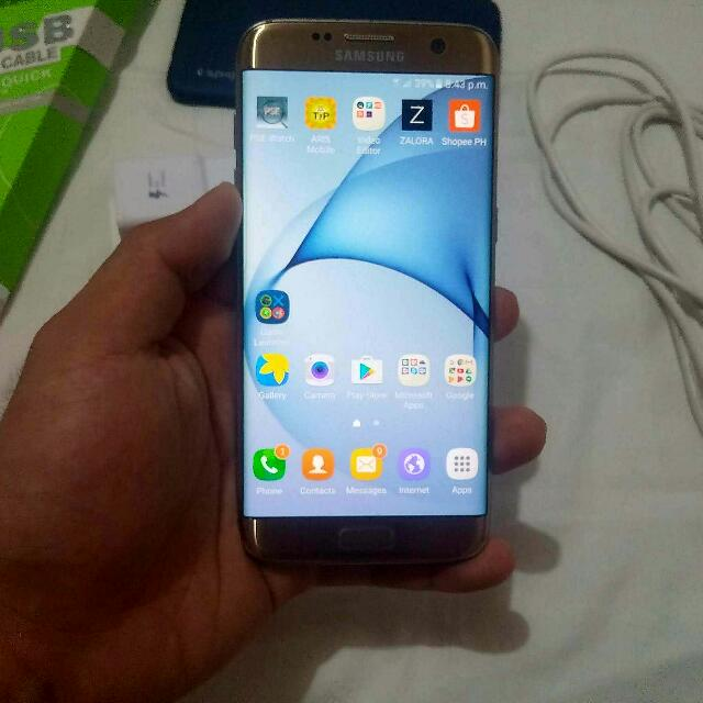 SALE OR SWAP!!! Samsung Galaxy S7 Edge Duos 32gb Platinum Gold Factory Unlocked!!!