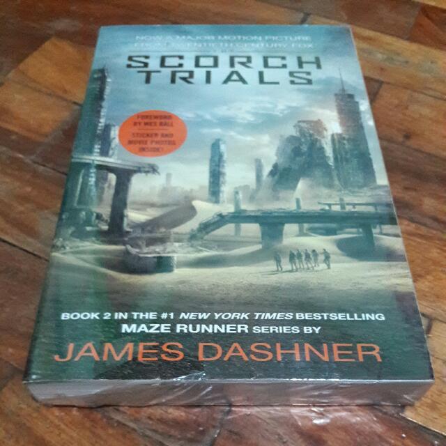 Scorch Trials Movie Tie-in By James Dashner