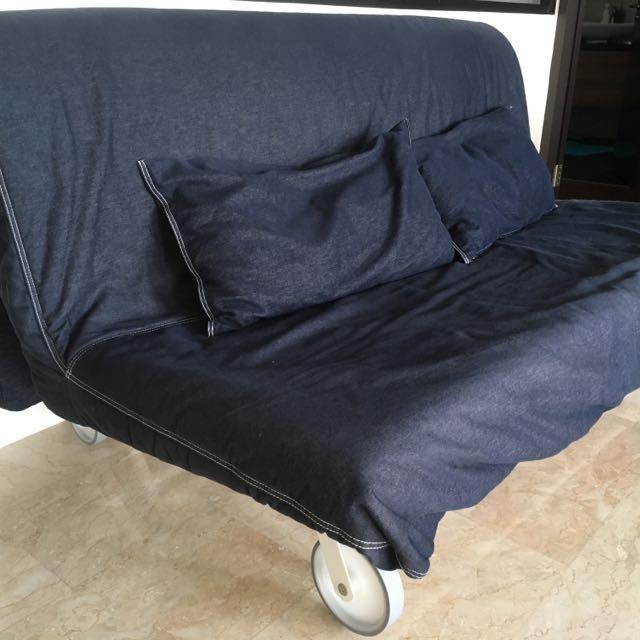 Sofa Bed Ps Lovas Denim Furniture Sofas On Carousell