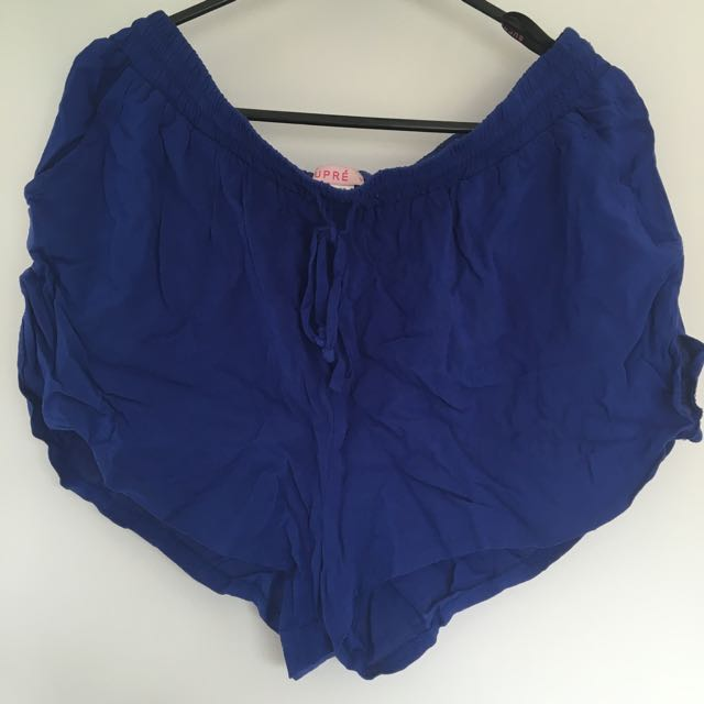 Supre Blue Loose Shorts