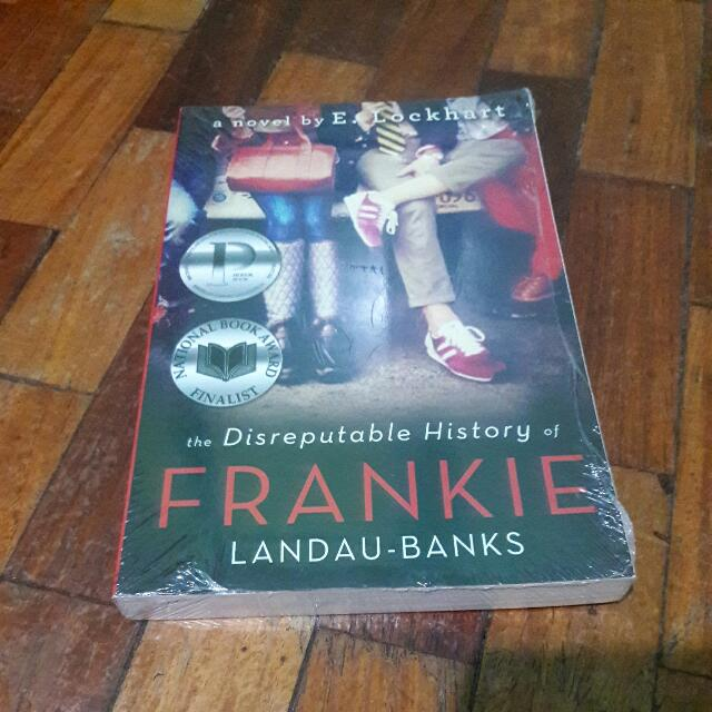 The Disreputable History Of Frankie By E. Lockhart