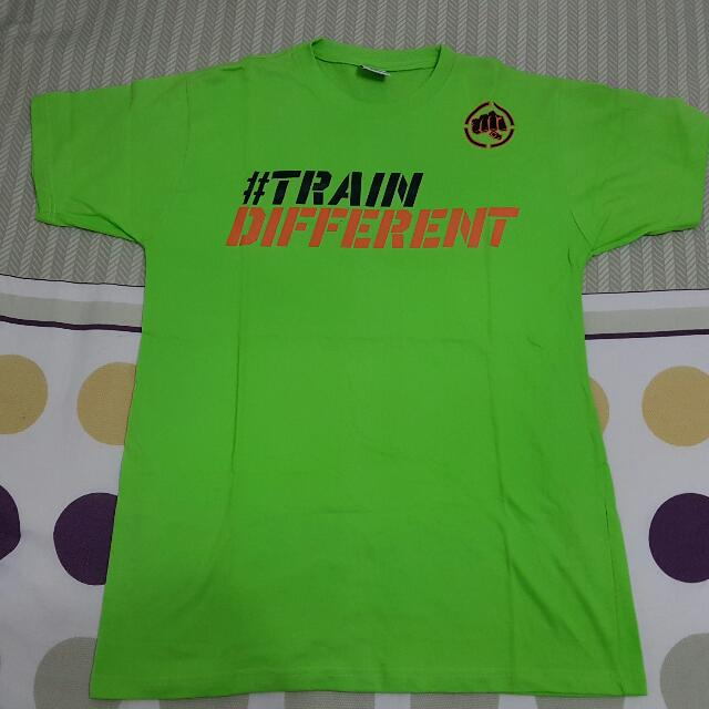 Train Well Shirt Punishment Neon Green Shirt Size Large Or Xl For