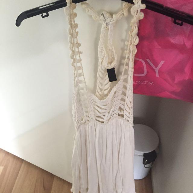 White Beach Dress