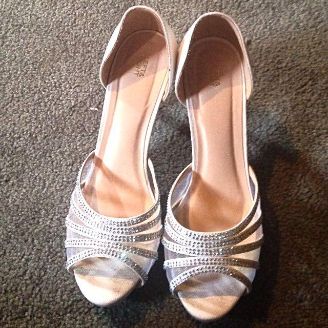 Woman Open Toed High Heels