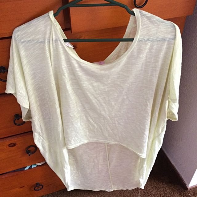 XL Yellow Top