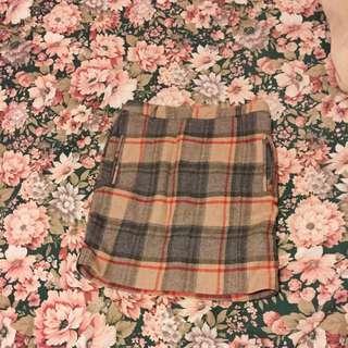 Burberry Pattern Skirt