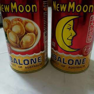 NEW MOON ABALONE《RESERVED》till Tmr Night {Product Of Australia} - 425g