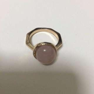 Rose Quartz Ring Rose Quartz Ring